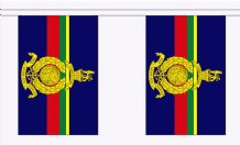 ROYAL MARINES BUNTING - 3 METRES 10 FLAGS